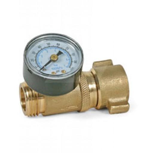 camco water pressure regulator pre set at 40 50 psi camco brands. Black Bedroom Furniture Sets. Home Design Ideas