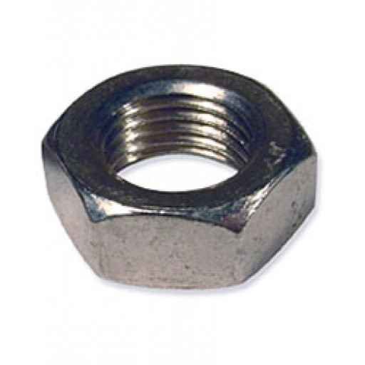 Stainless steel shaft nut jam quot for