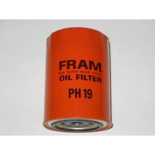 fram oil filter model ph19