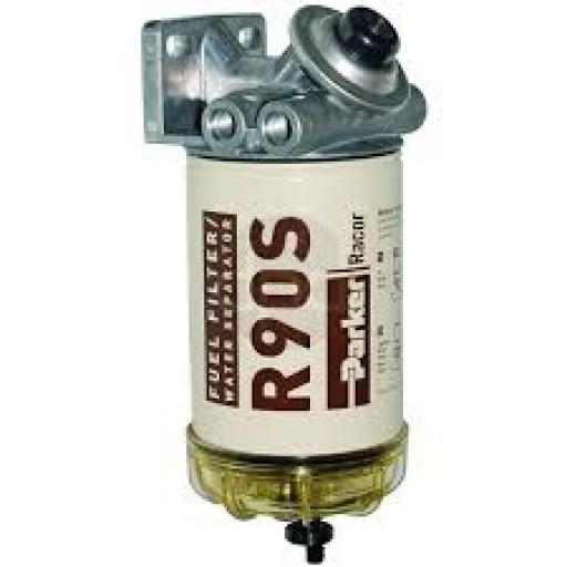 Diesel Fuel Water Filter : Racor diesel gas filter water separator microns fuel