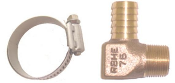 Barr mercruiser manifold plumbing fittings