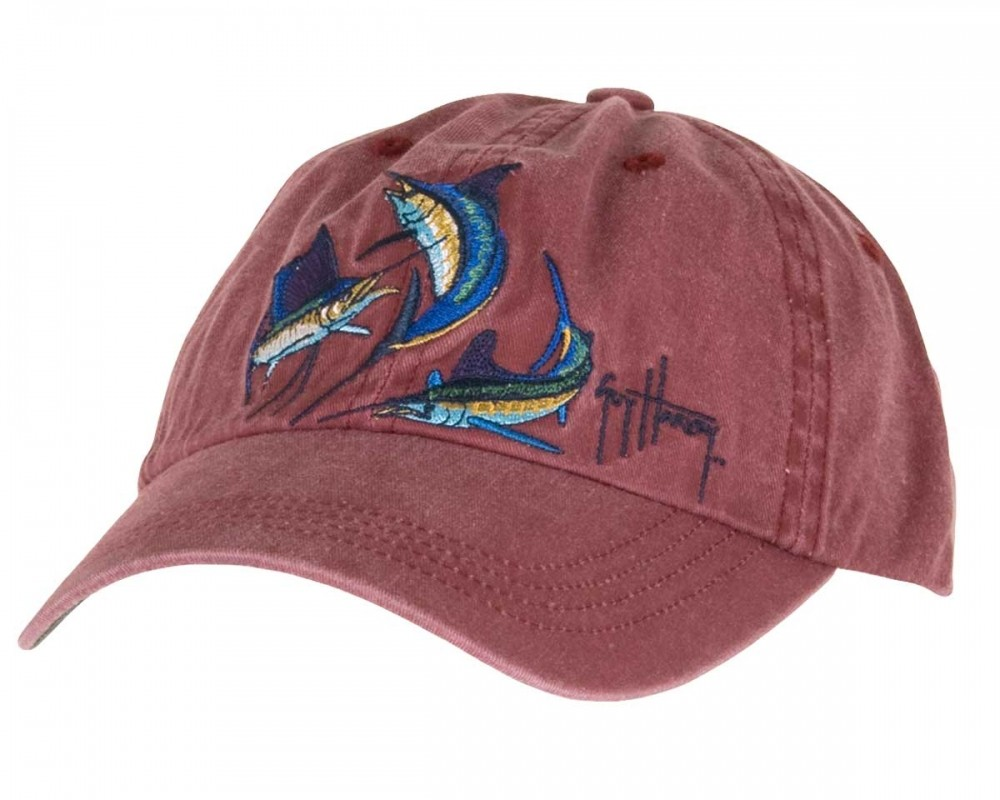 Aftco Hat Grand Slam Cardinal Red