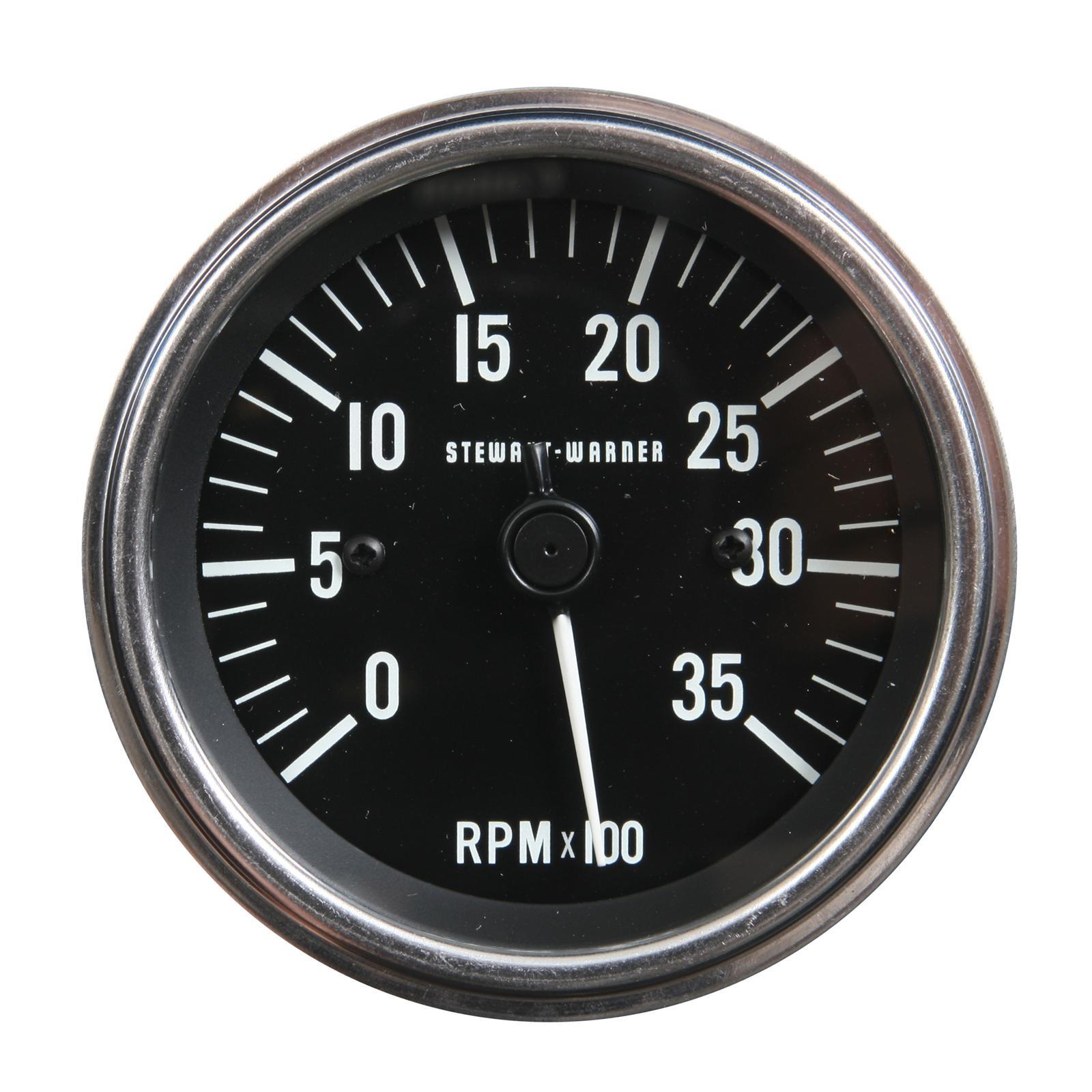 stewart warner tachometer 0 3500 rpm Digital RPM Tachometer rpm tach wiring