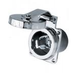 Hubbell 50 Amp 125/250 V Shore Power Inlet Stainless Steel