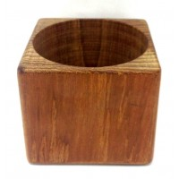AFI Teak Drink Holder for Single Can or Bottle