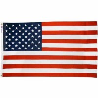 Annin United States Flag Nyl-Glo Embroidered