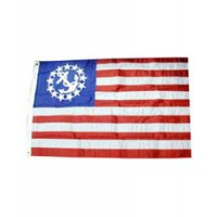 Annin US Yacht Ensign Flags Nyl-Glo Embroidered