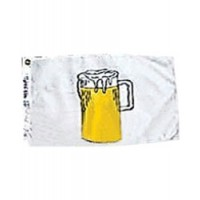 "Annin Beer Flag 12"" X 18"" Nyl-Glo"