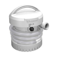 Attwood Manual Electric Bilge Pump - Battery Operated