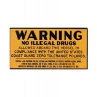 Bernard Engraving Plaque No Illegal Drugs