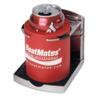 BoatMates Drink Holder Folding Stainless Steel