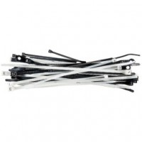 "Beckson Wire/Cable Ties 7"" Black - 12 pack"