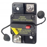 Blue Sea Circuit Breaker 30 AMP Surface Mount Thermal