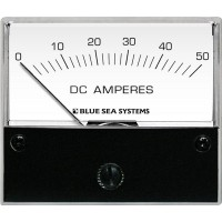 Blue Sea Ammeter DC Analog Reads From 0 to 50 Amps