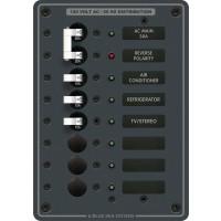 Blue Sea Circuit Breaker Panel AC Main + 6 Position