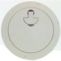 """Bomar Deckplate 8-1/2"""" Cut Out - White"""