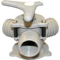 "Bosworth Sea-Lect Y-Valve 1-1/2"" - Base Mount"