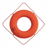 "Cal-June Jim Buoy USCG 30"" Ring Buoy-Orange"