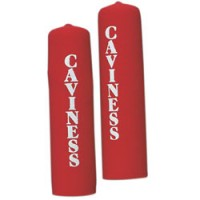 Caviness Oar Power Grips Pair - Red