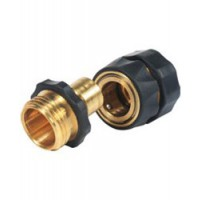 Camco Quick Hose Connect / Disconnect - Brass