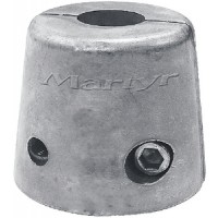 "Martyr Canada Metal De-Icer Anode Zinc 1/2"""