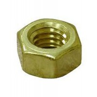 "Brass Shaft Nut - Regular 7/8"" x 9 for 1-1/4"" Shaft"