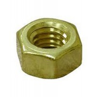 "Brass Shaft Nut - Regular 1-1/8"" x 7 for 1-1/2"" Shaft"