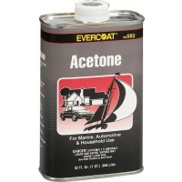 Evercoat Acetone Quart Thinner & Cleaner