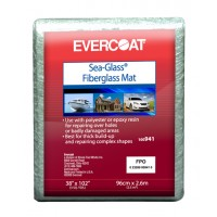 "Evercoat Fiberglass Mat 38"" x 102"""