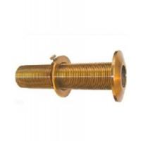 "Groco Thru-Hull Bronze 3/4"" Thread"