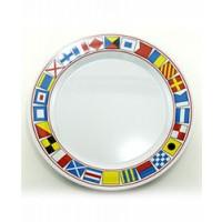 """Galleyware Serving Platter 12"""" Plate - Code Flags"""