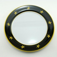 """Galleyware Serving Platter 12"""" Plate - Commodore"""