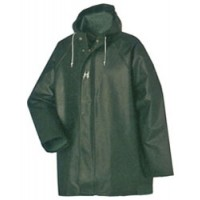 Helly Hansen Heavy Duty PVC Waterproof Jacket Green