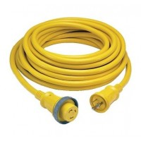 Hubbell 30 Amp 125 Volt Shore Power Cord 50 w/ LED Indicator