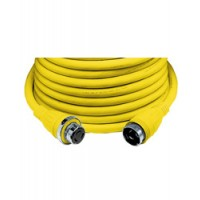 Hubbell 50 Amp 125 V Shore Power Cord 50 Foot Yellow