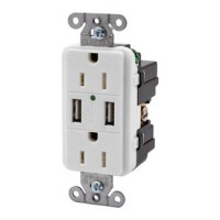 Hubbell USB Receptacle