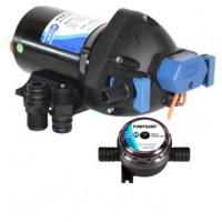 Jabsco Diaphragm Shower Drain Pump Par-Max 3.5 GPM 12V