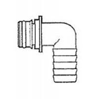 "Jabsco Snap-in Port Adapter 3/4"" Hose 90 Degree"