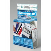 """Lifesafe Measure-It! Hands Free Project Tape - 1"""" X 48'"""