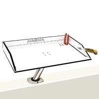"Magma Bait/Fillet Mate 20"" Table with LeveLock Mount"