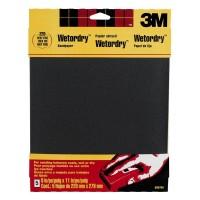 3M Wetordry 220 Grit Sandpaper-5
