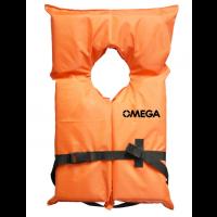 Omega Adult Life Vest Type II Universal - Orange
