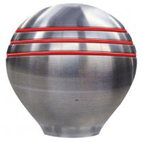 Ongaro Control, Shift, or Throttle Knob - Grooved Red