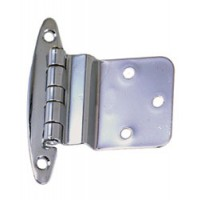 "Perko Inset Hinge Chrome Plated Brass 2-3/4"" X 2-1/8"""