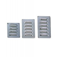 "Perko Louver Vent Chrome Plated Brass 3-3/4"" X 3"""