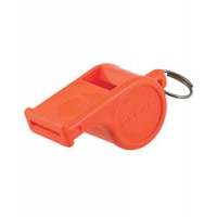 Perko Whistle Orange Plastic Ball Type