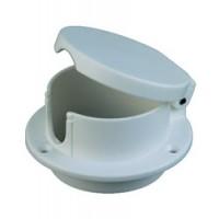 Perko Rope Deck Pipe White Plastic