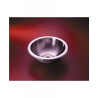 "Sink Stainless Steel Round - 11-3/4"" Diameter"