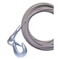 "Powerwinch Galvanized Cable - 7/32"" X 25'"