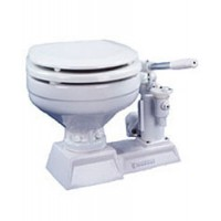 Raritan PHII Manual Toilet Marine Bowl - White